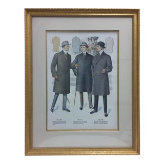 Framed Antique Clothing Line Print, 13 of 14