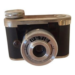 Petite Spy Camera Made in West Germany in Leather Case