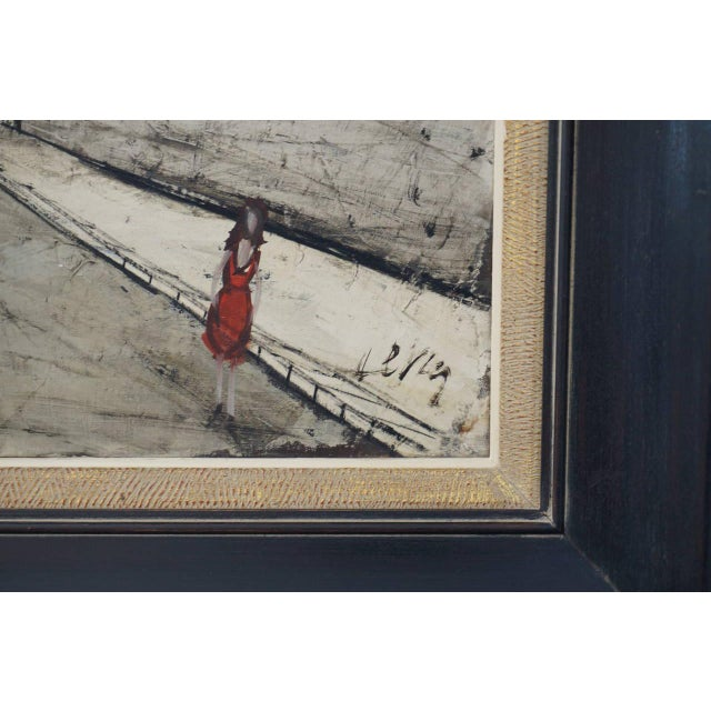 Mid-Century Oil Painting by French Artist Charles Levier For Sale - Image 10 of 11