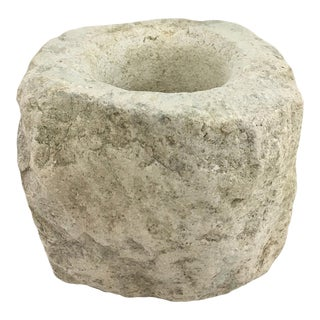 Antique Stone Mortar For Sale