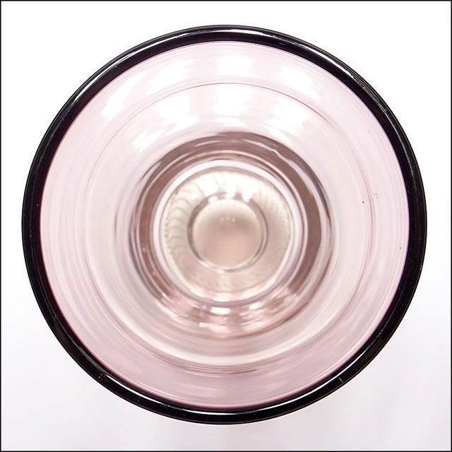 Mid-Century Modern Erickson Studio Bullicante Art Glass Vase For Sale In New York - Image 6 of 9