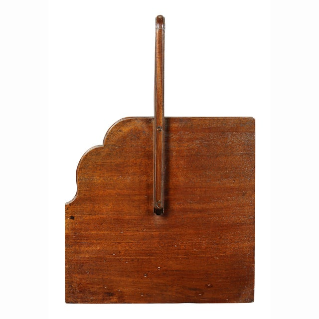 George III Mahogany Book Carrier For Sale In Boston - Image 6 of 8