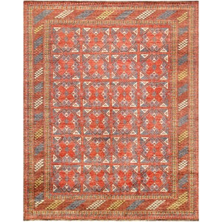 """Pasargad Nomad Collection Wool Rug - 7' 9"""" X 9' 9"""""""