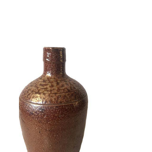 Brown Ceramic Southwestern Jug For Sale - Image 5 of 7
