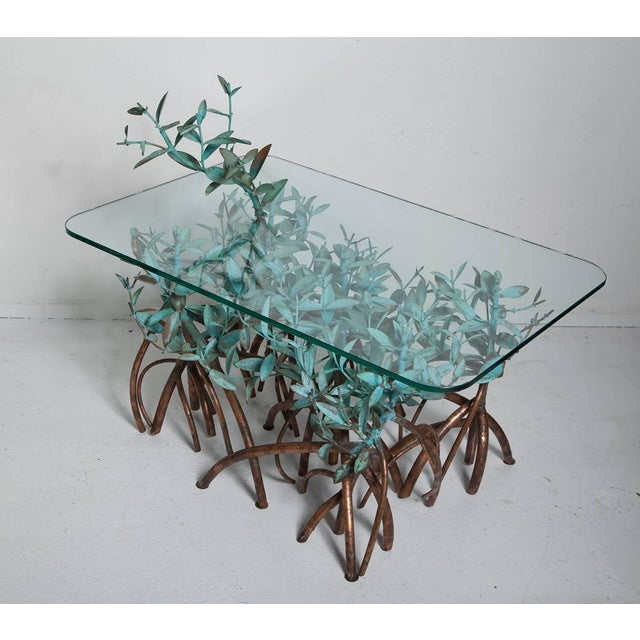 Copper Mangrove Coffee Table by Garland Faulkner For Sale - Image 9 of 13