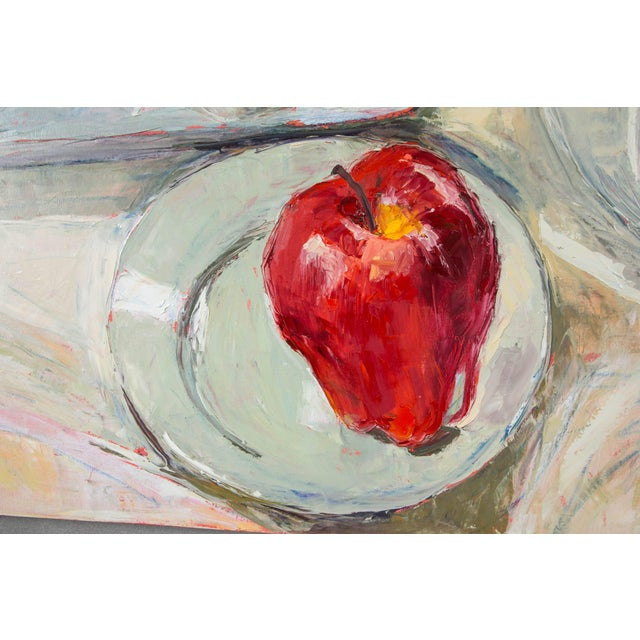 Portraiture Dale Payson Still Life Oil on Canvas For Sale - Image 3 of 6