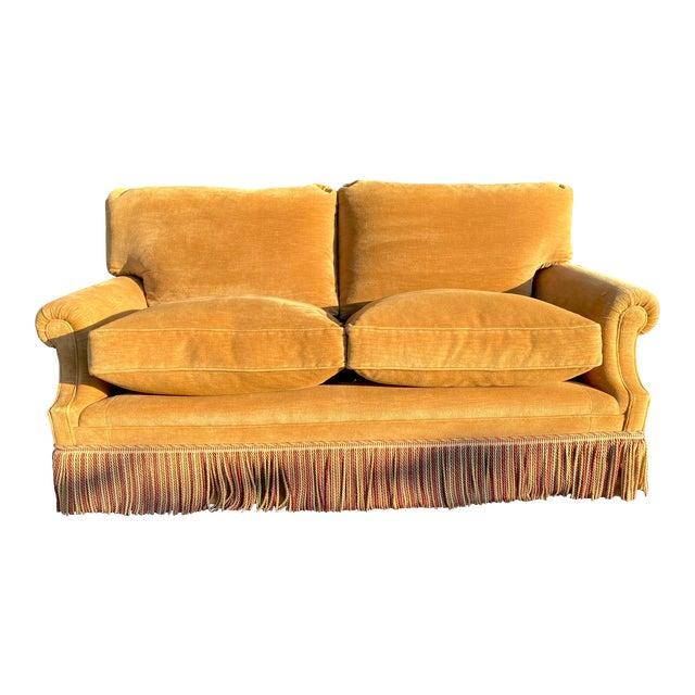 George Smith Laidback Arm Sofa For Sale