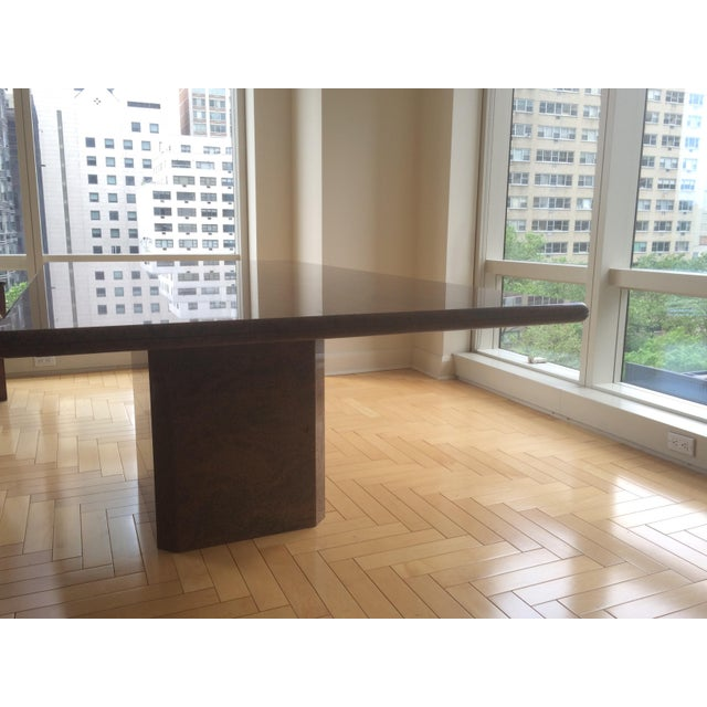 Modern Marble Dining Table - Image 3 of 5
