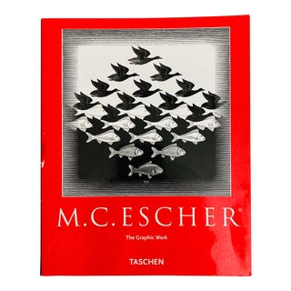 2001 Taschen MC Escher First Edition Graphic Art Book For Sale