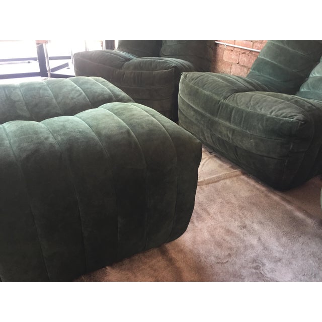 """Modular Green Sectional Sofa """"Giannone"""" by Arch. G.Grignani for 7Salotti, Italy For Sale In Los Angeles - Image 6 of 9"""
