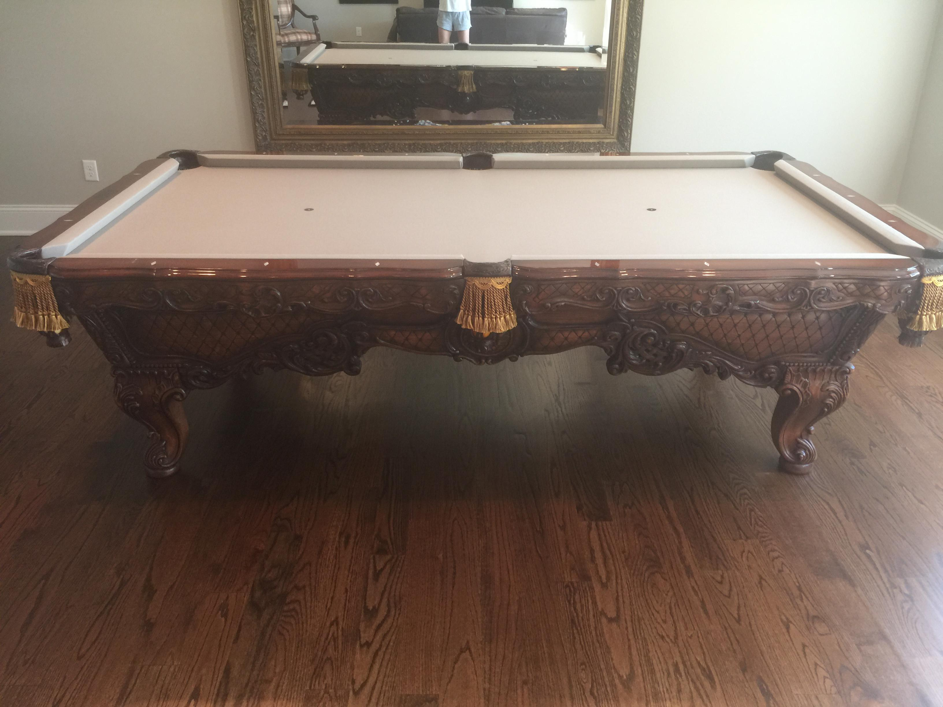 Gothic Renaissance Custom Pool Table For Sale   Image 3 Of 8