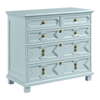 Casa Cosima James Chest of Drawers, Palladian Blue For Sale