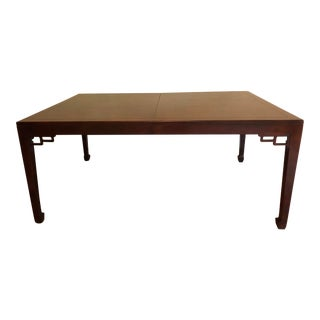 Baker Far East Collection Mahogany Dining Room Table For Sale