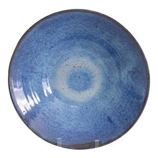 Handmade Blue Artisanal Bowl