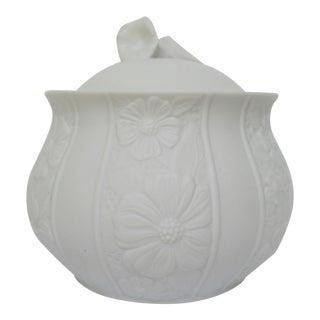 Bavarian Bisque Porcelain Jar