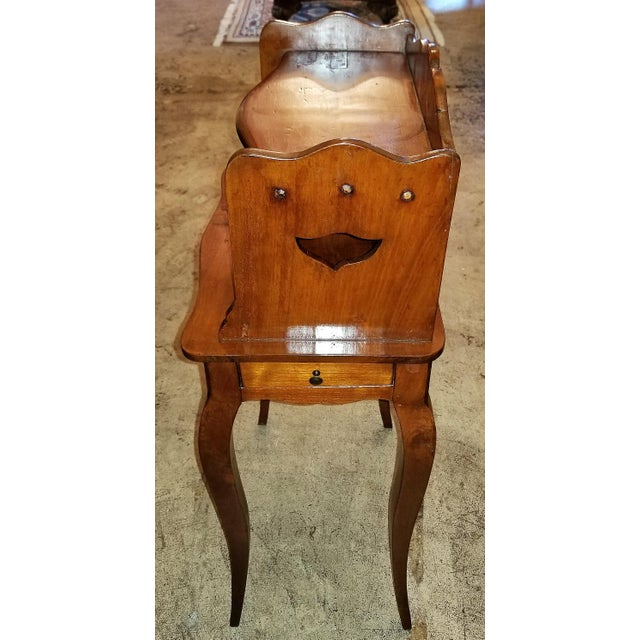 18th Century French Country Cherrywood Side Table For Sale - Image 9 of 10