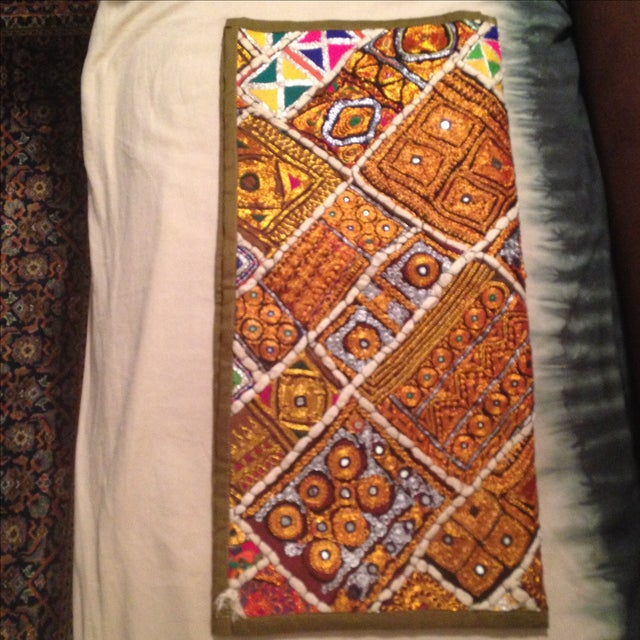 Large Stunning Global Chic Pillow Including Insert - Image 10 of 11