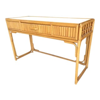 Rattan & Wicker Console/Desk
