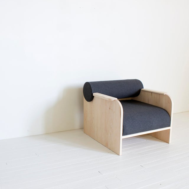 Contemporary June Lounge and Club Chair For Sale - Image 3 of 8