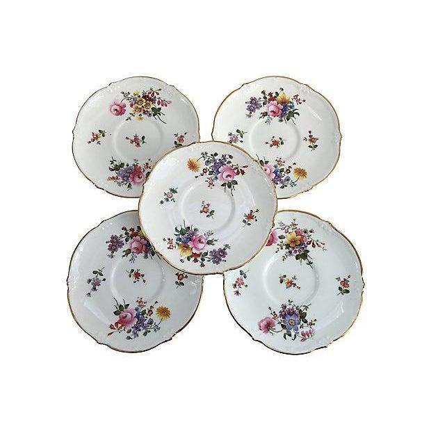 English Porcelain Cauldon Soup Bowl Set - Set of 10 For Sale - Image 5 of 7