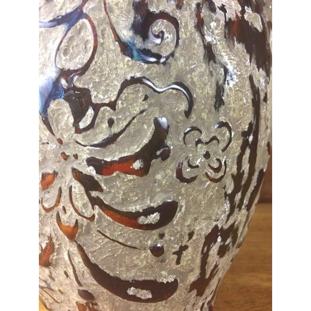 Boho Raised Glaze Vase - Image 9 of 9