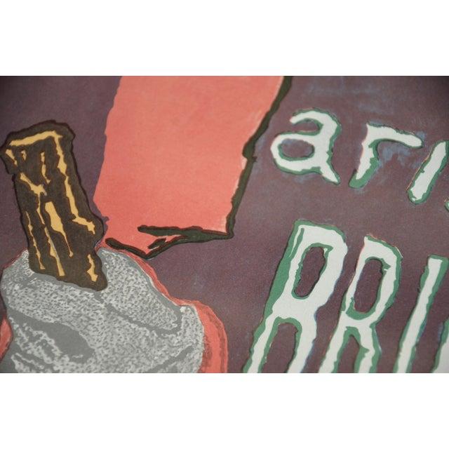 "Framed Lithograph Print ""Aristide Bruant - Ambassadeurs"" by Henri De Toulouse-Lautrec For Sale - Image 12 of 13"