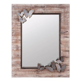 Embellished Butterfly Mirror For Sale