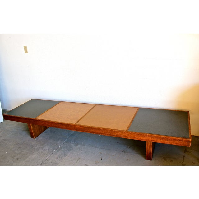 Harvey Probber Colorblock Coffee Table Bench - Image 7 of 10