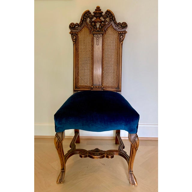 Early 20th Century Vintage Italian Rococo Chair For Sale - Image 10 of 10