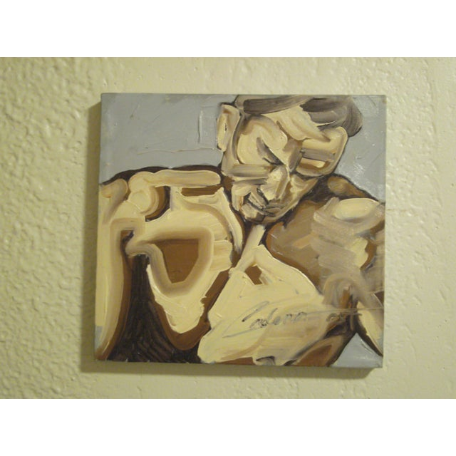 Original Figural Painting - Image 2 of 7