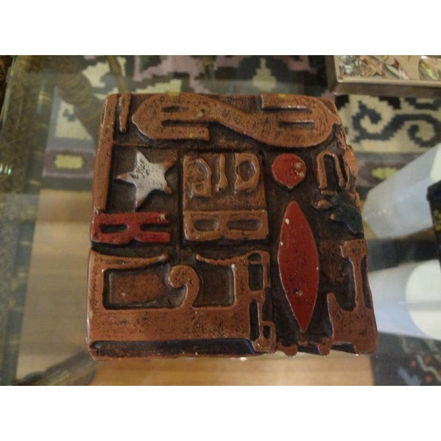 Mid-Century Modern Mid Century Modern Alpha Cube Sculpture by Sheldon Rose For Sale - Image 3 of 13
