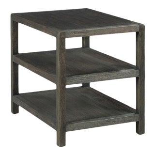 Kenneth Ludwig Chicago Triad Worn Black Side Table For Sale