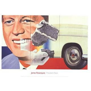 James Rosenquist-President Elect-2004 Poster
