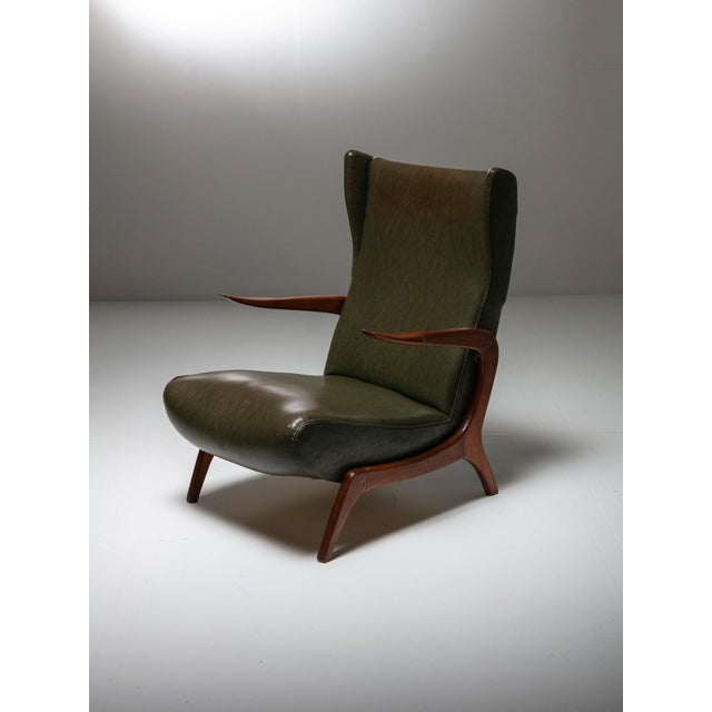 Set of Two Bergères With Footrest For Sale - Image 4 of 11
