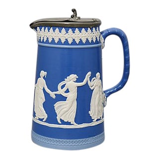 Antique Dudson Dancing Hours Pitcher For Sale