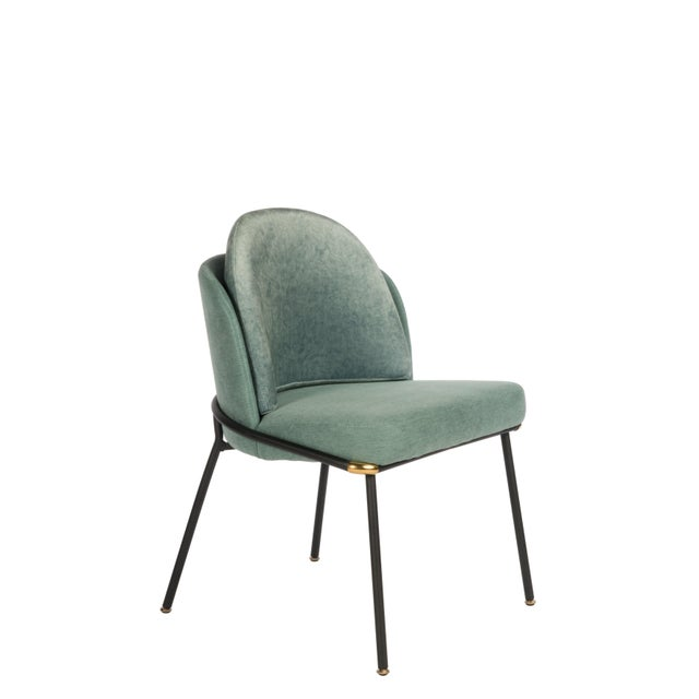 2010s Modern Baron Sea Foam Dining Chair For Sale - Image 5 of 5
