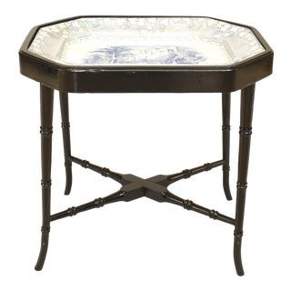 19th Century English Victorian Coffee Table For Sale