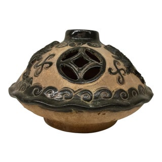 Western China Primitive Clay Vessel