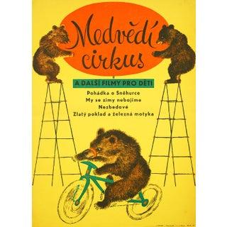 Bear Circus 1959 Czech Movie Poster