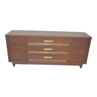 1960s American Mid Century Dresser by Kent Coffey the Grandeur For Sale