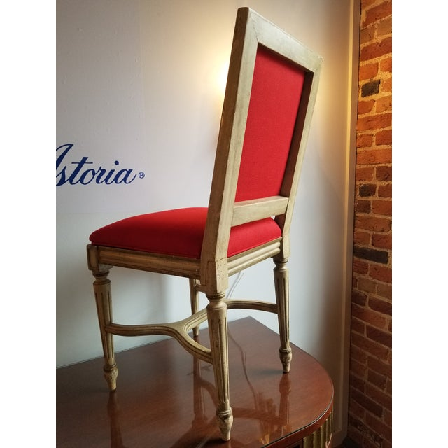 1980s 1980s French Provincial Side Chair For Sale - Image 5 of 8