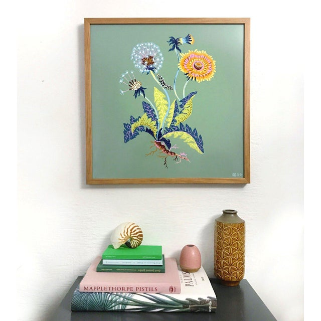 "All giclée prints are digitally recreated from scanned original hand paintings by Sarah Gordon. Paper size 20"" x 20"" Full..."