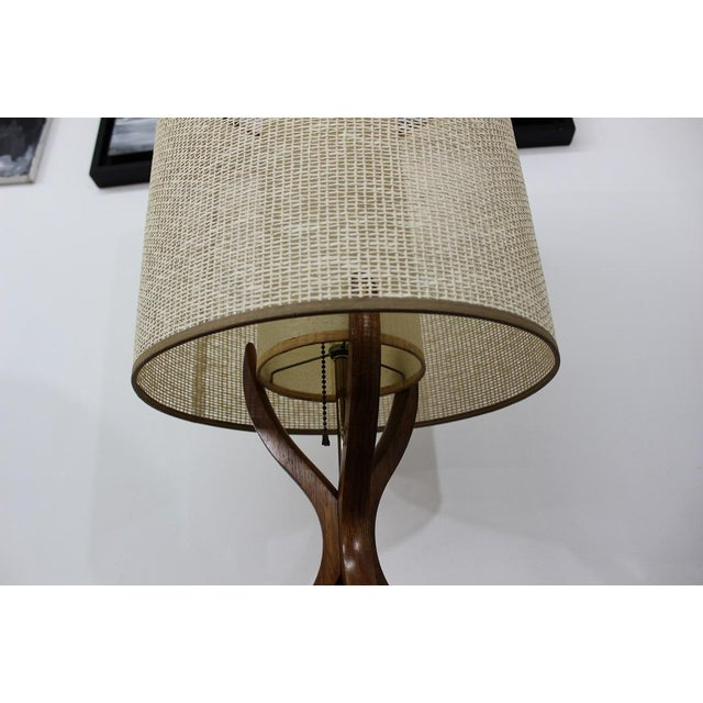 Mid Century Modern danish table lamp For Sale - Image 5 of 11