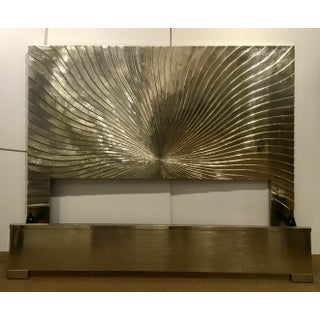 Universal Furniture Modern Silver Foil King Bed Prototype Preview