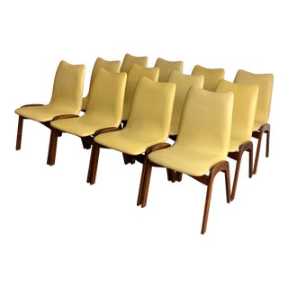 Chet Beardsley Dining Chairs- Set of 12 For Sale