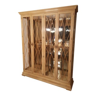 Henredon Large Oak Curio