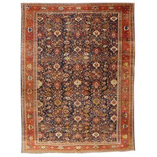 Antique Sultanabad Carpet For Sale