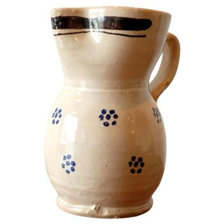 Vintage Italian Studio Ceramic Pitcher For Sale