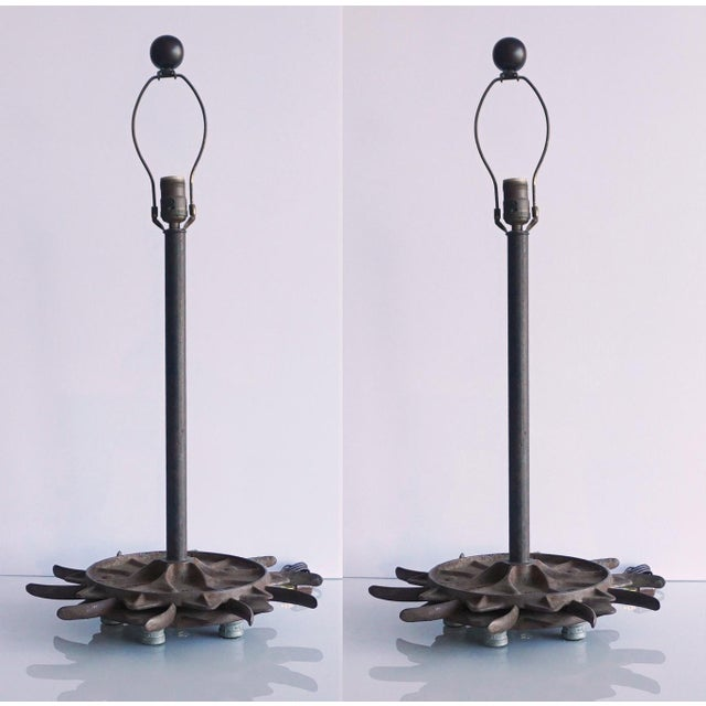 2010s Industrial Gears Lamps For Sale - Image 5 of 5