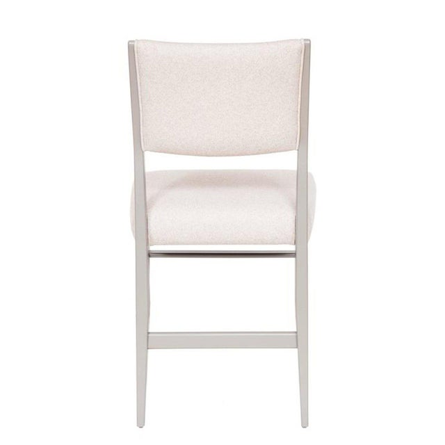 Mid-Century Modern Set of 4 Maze Lacquered Dining Chairs For Sale - Image 3 of 5